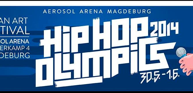 HipHop Olympics 2014 in der Aerosol Arena in Magdeburg